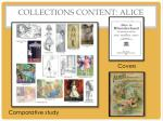 collections content alice