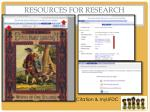 resources for research