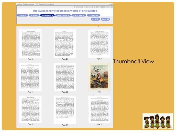 Thumbnail View