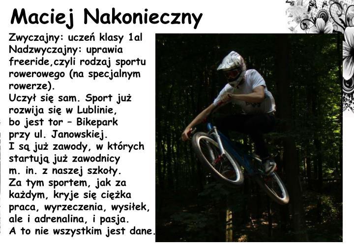 Maciej Nakonieczny