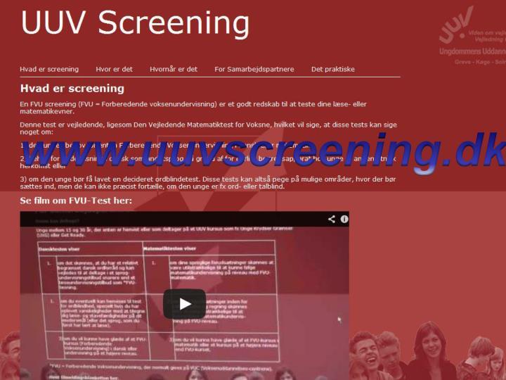 www.uuvscreening.dk