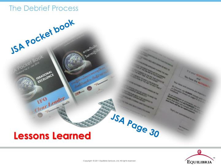 The Debrief Process