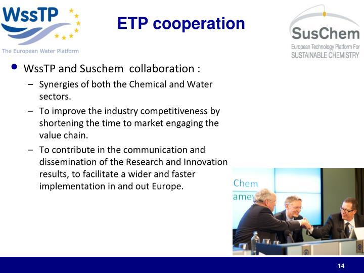 ETP cooperation