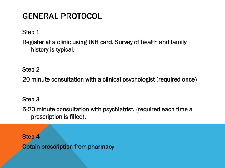 General protocol