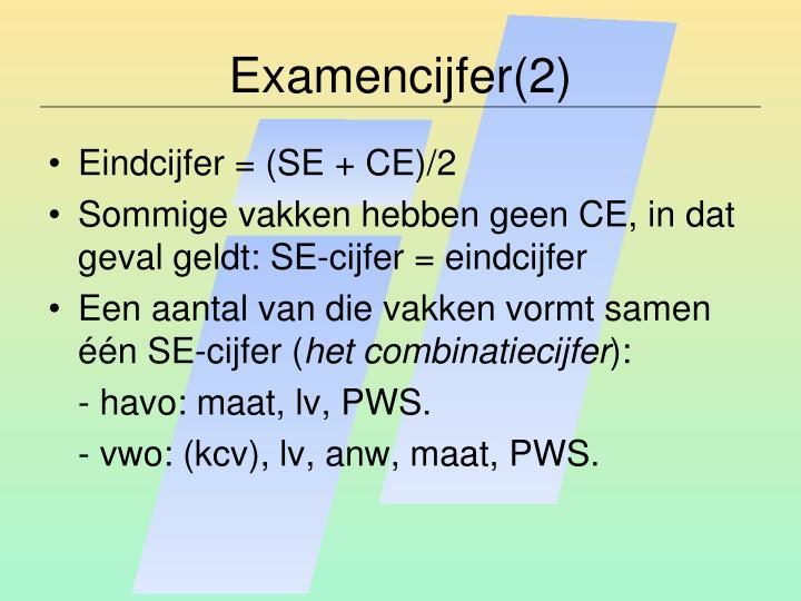 Examencijfer(2)