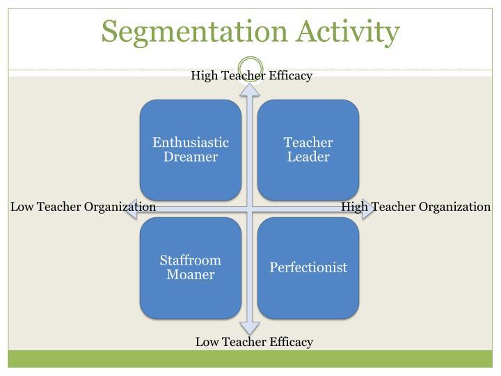 Segmentation Activity