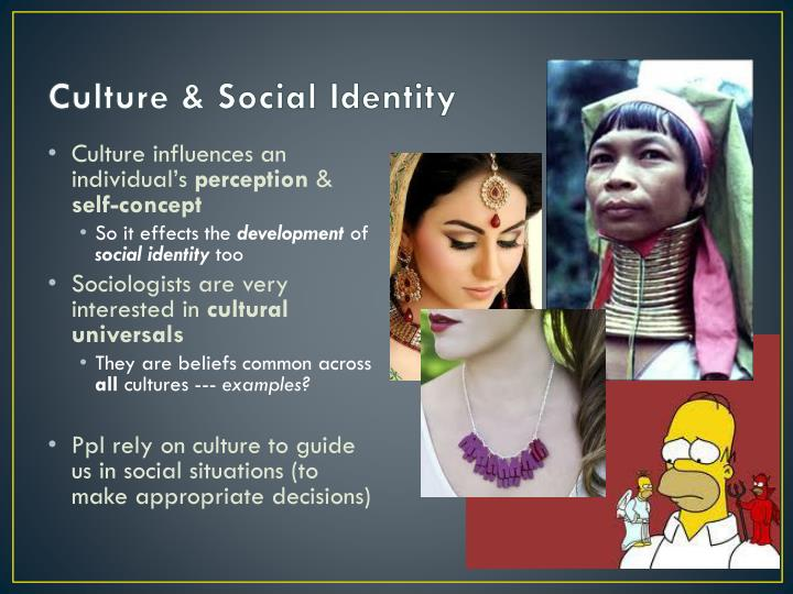 Culture social identity