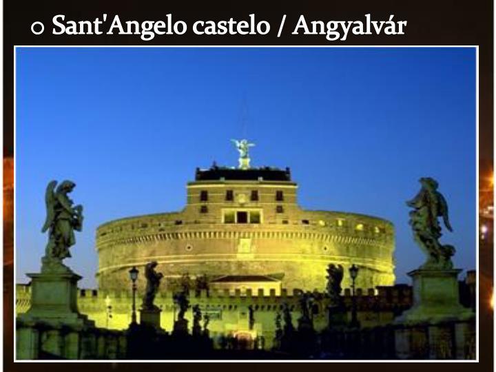 Sant'Angelo castelo