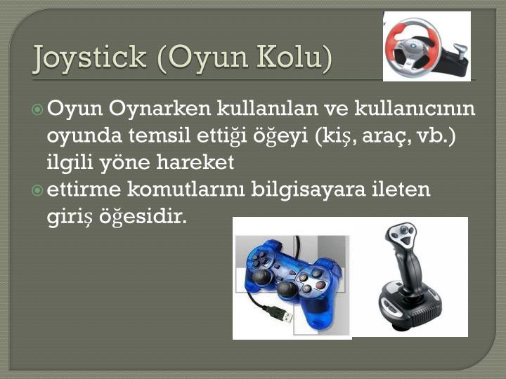Joystick (Oyun Kolu)