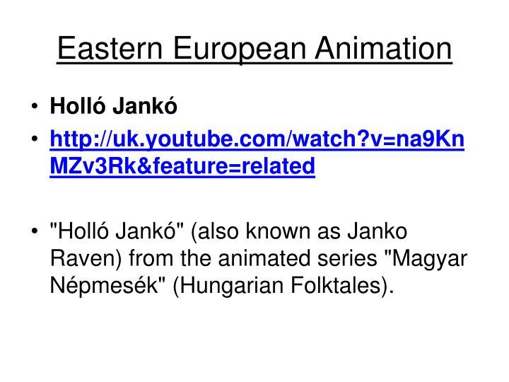 Eastern European Animation