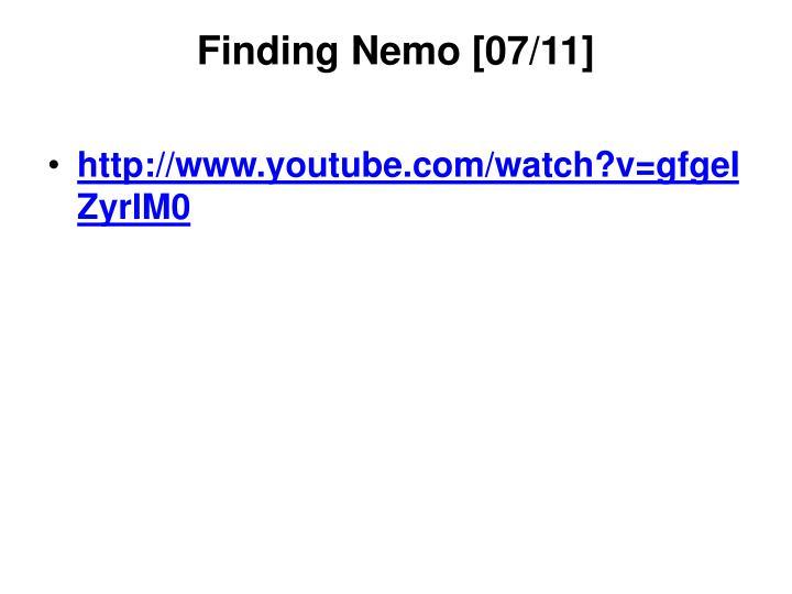 Finding Nemo [07/11]