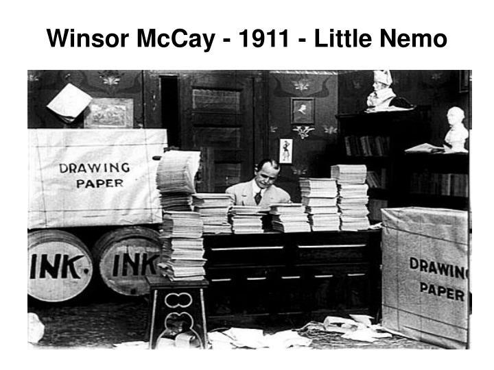 Winsor McCay - 1911 - Little Nemo
