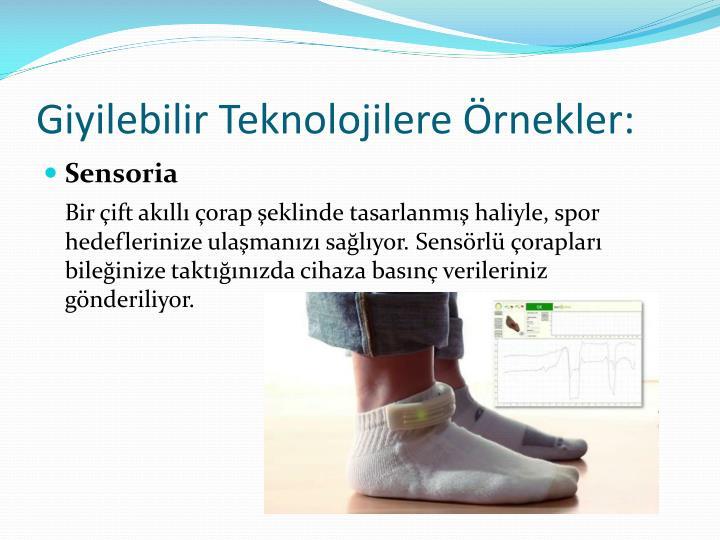 Giyilebilir Teknolojilere Örnekler: