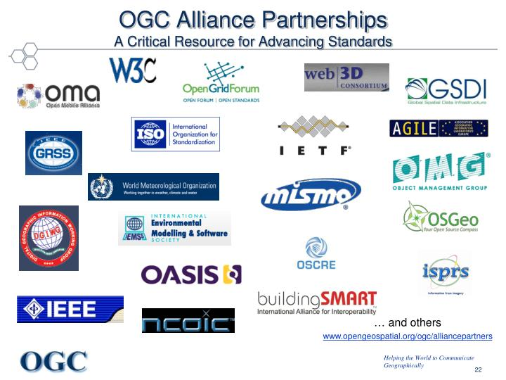 OGC Alliance Partnerships