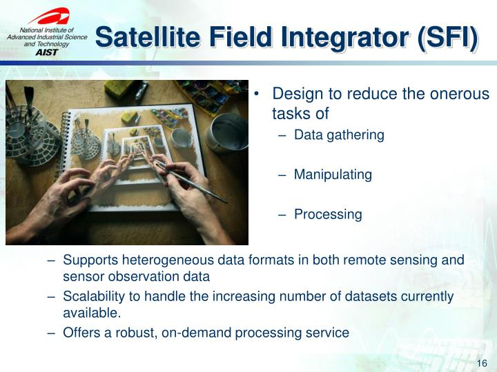 Satellite Field Integrator (SFI)
