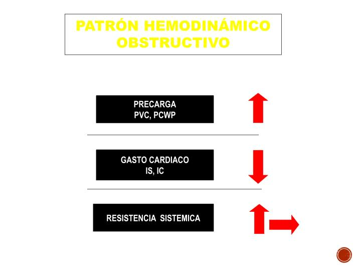 PATRÓN HEMODINÁMICO