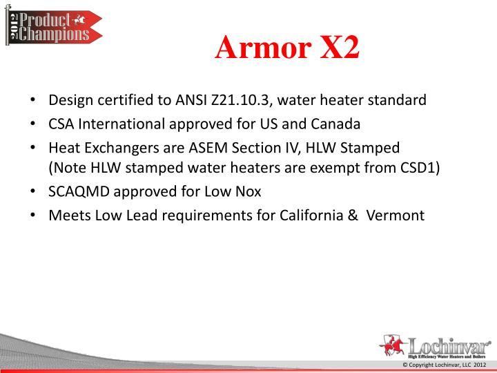 Armor X2