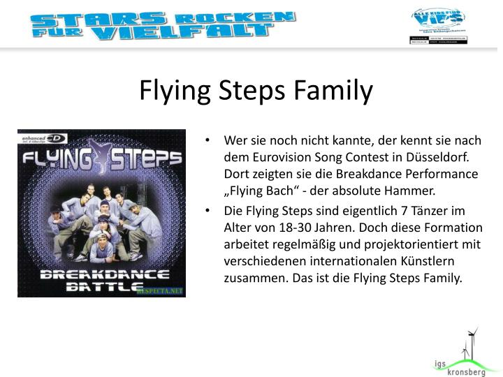 Flying Steps Family