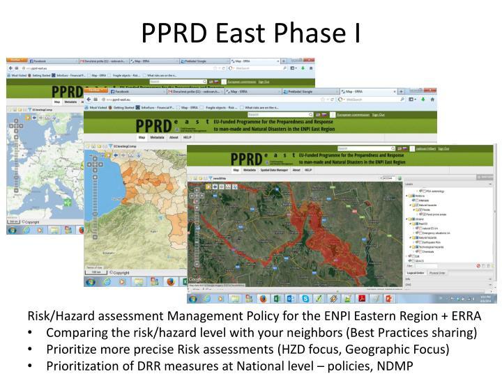 PPRD East Phase I