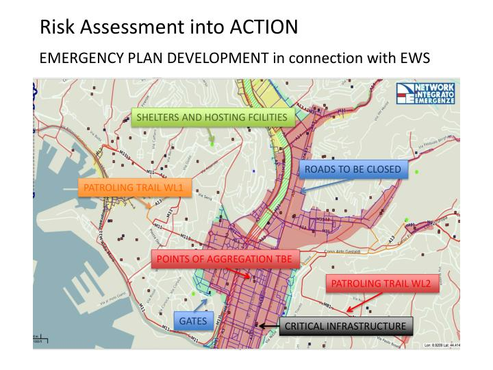 Risk Assessment into ACTION