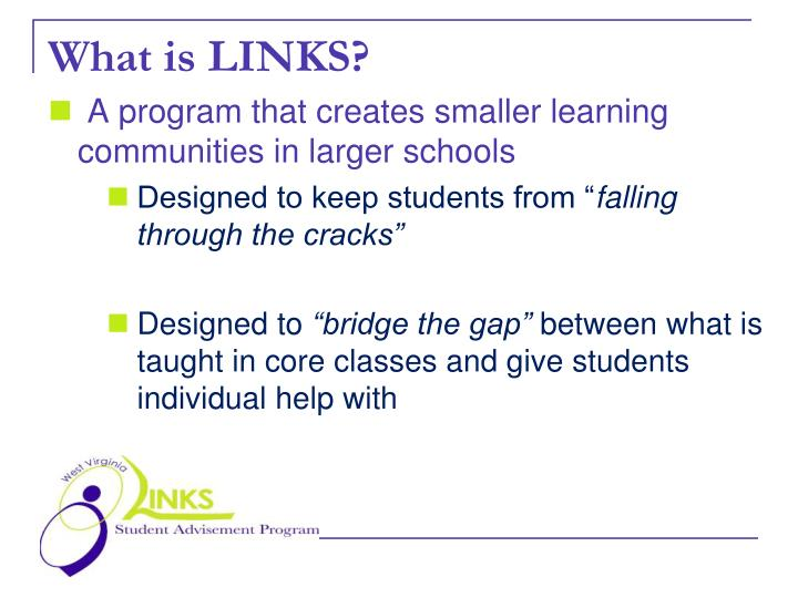 What is links