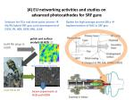4 eu networking activities and studies on advanced photocathodes for srf guns1