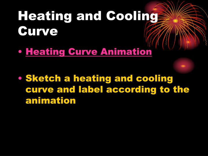 Heating and Cooling Curve