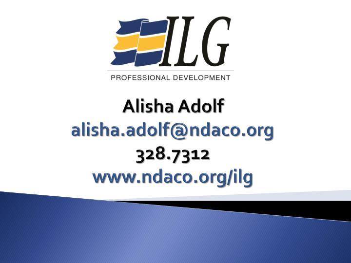Alisha Adolf