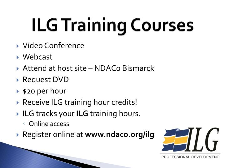 ILG Training Courses
