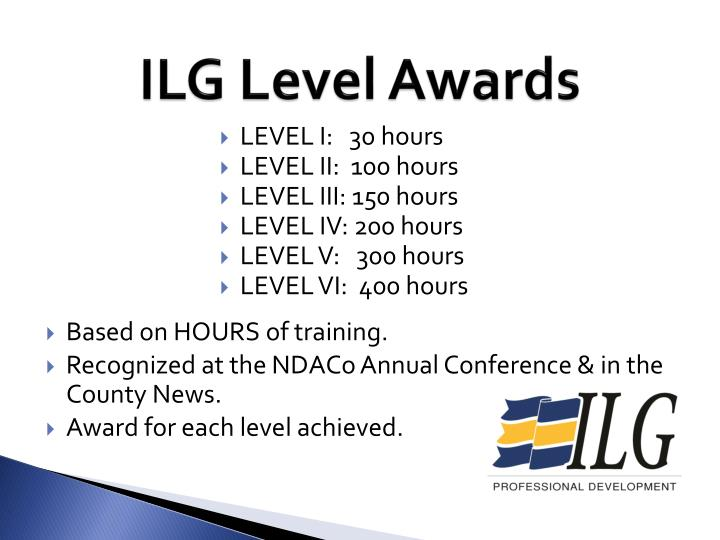 ILG Level Awards