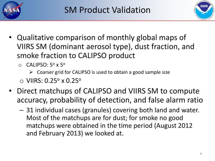 SM Product Validation