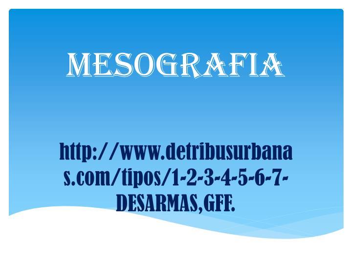 MESOGRAFIA