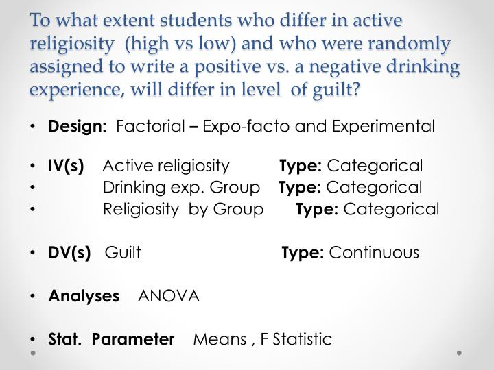 To what extent students who differ in active