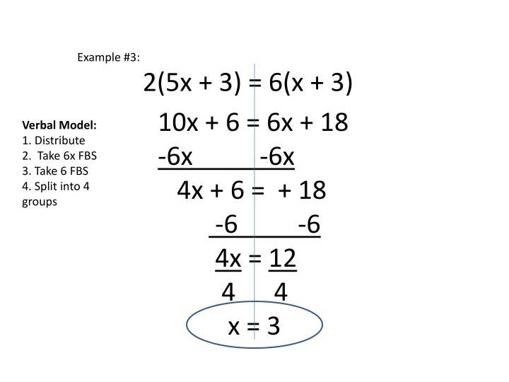 Example #3: