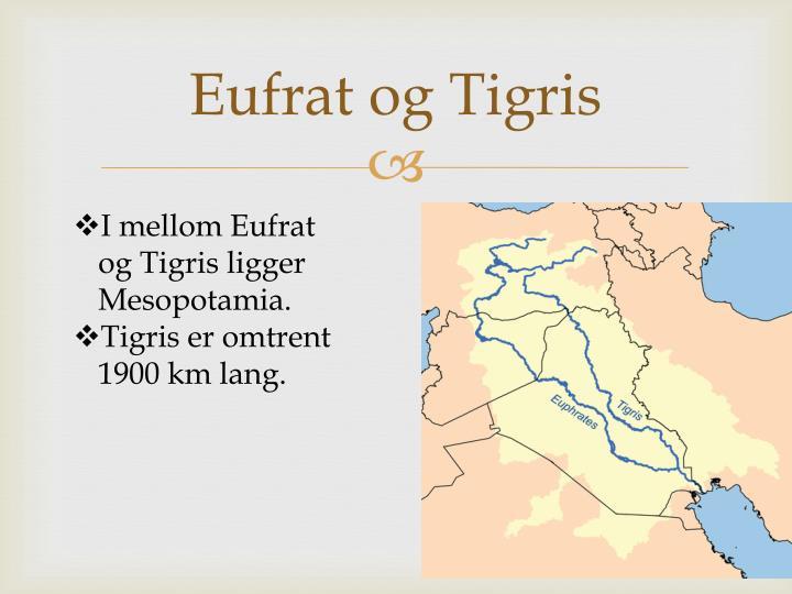 Eufrat og