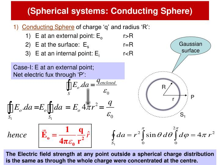 (Spherical systems: Conducting Sphere)