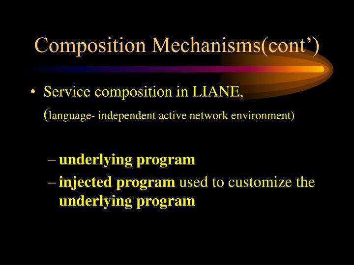 Composition Mechanisms(cont')