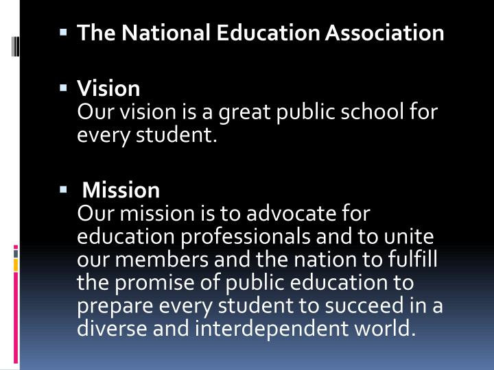 The National Education Association