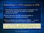schrodinger s 1935 response to epr