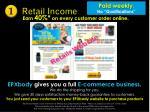 retail income