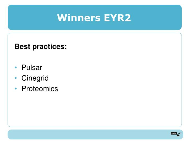 Winners EYR2