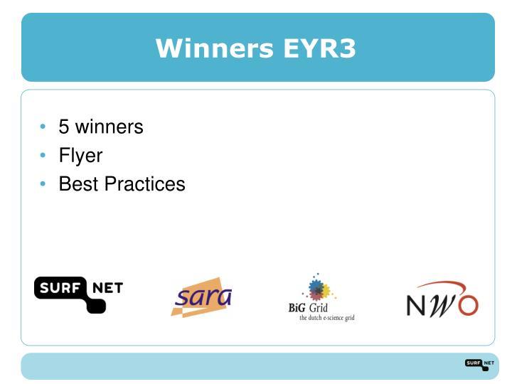Winners EYR3