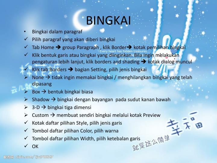 BINGKAI