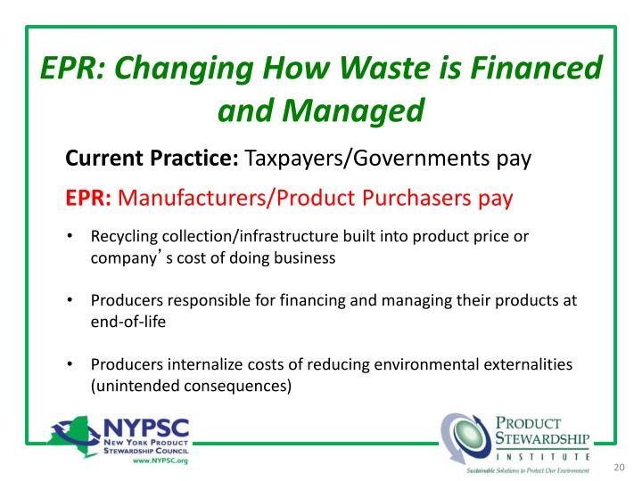 EPR: Changing How Waste is Financed and Managed