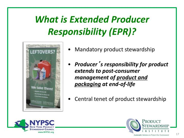 What is Extended Producer Responsibility (EPR)?