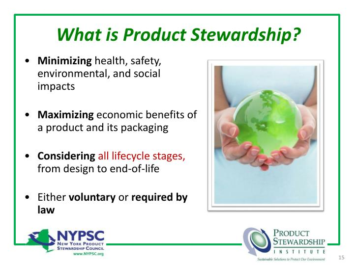 What is Product Stewardship?