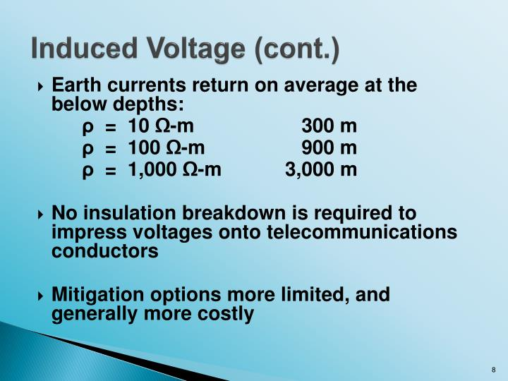 Induced Voltage (cont.)