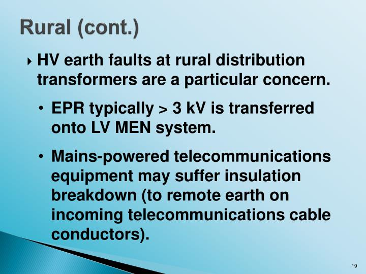 Rural (cont.)