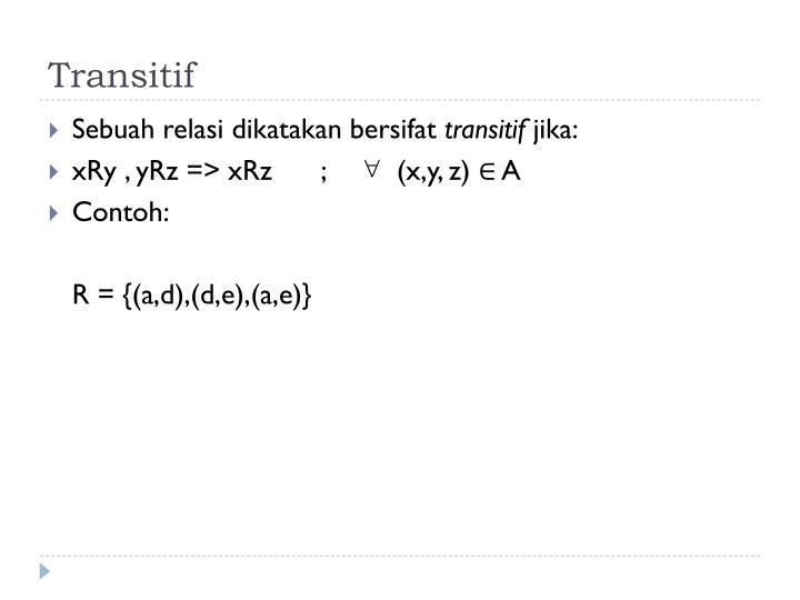Transitif