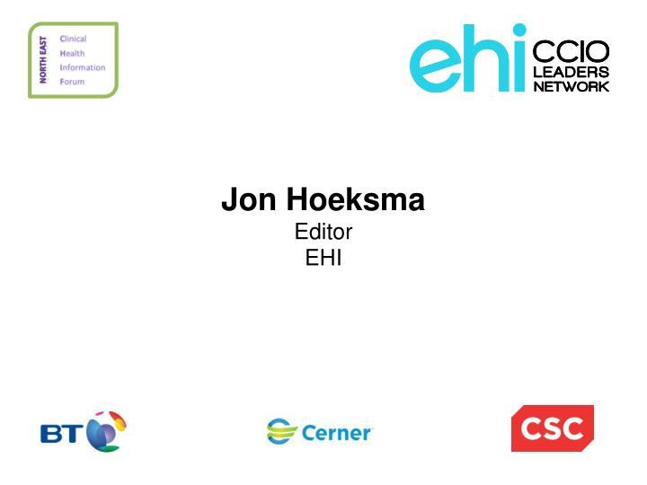 Jon Hoeksma